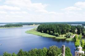 Природа на озере Селигер