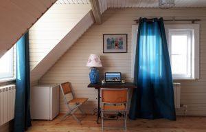 Домик с мансардой для аренды на озере Селигер