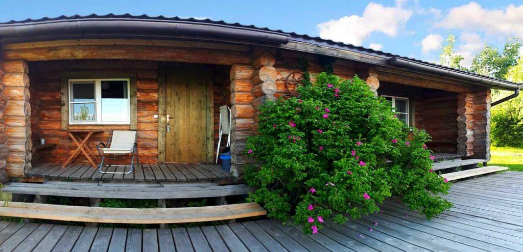 аренда дома с террасой на Селигере