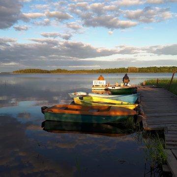 Рыбалка рядом с Домом рыбака