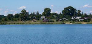 Домики для отдыха на озере