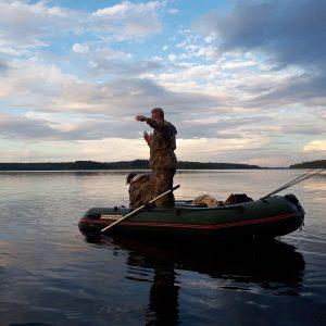 рыбная ловля в августе